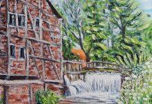 Mesnières : l'ancien moulin