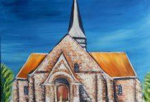 L'église d'Esclavelles