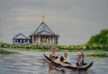 L' église flottante ( Cambodge )